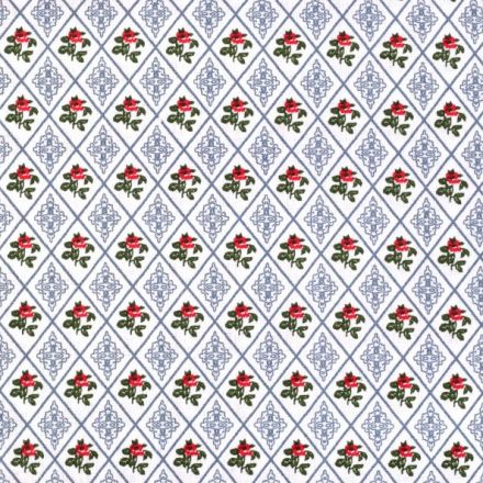 Metráž: Bavlna s kosočtverci