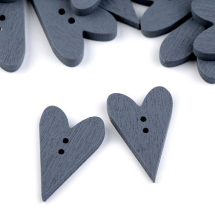 Galanterie: Knoflík srdce