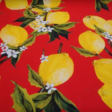 Metráž: Bavlna s citrony
