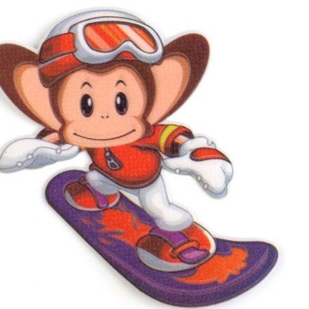 Galanterie: Nažehlovačka opice