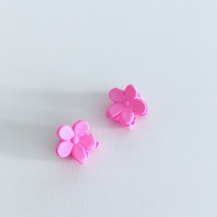 Skřipec tmavě růžová kytka 2 ks
