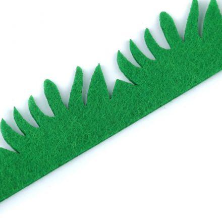 Galanterie: Filcová tráva (1ks) - š.3x100cm
