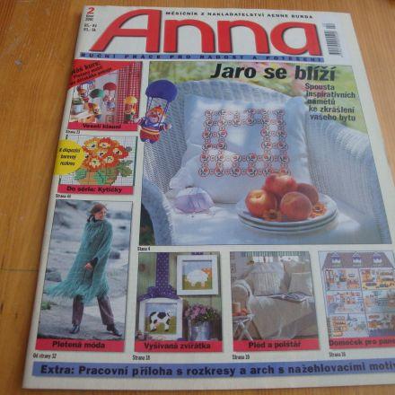 Časopis Anna - 2/2001