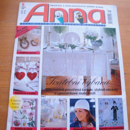 Časopis Anna - 5/2001