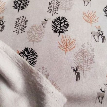 Metráž: Warmkeeper - úplet s fleecem
