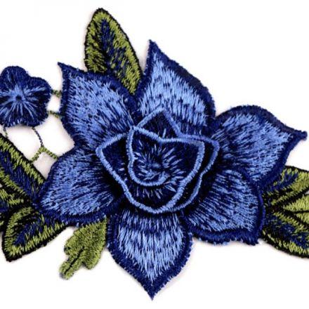 Galanterie: Nažehlovačka květ 3D
