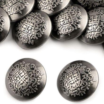 Galanterie: Knoflík kovový 23mm