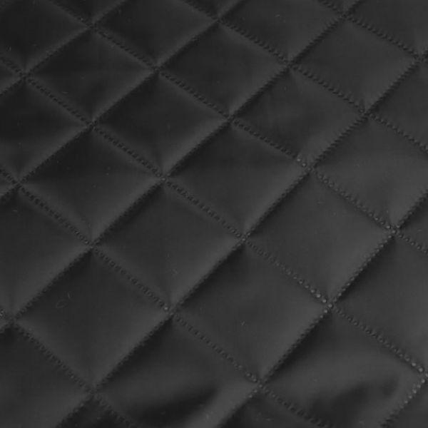 Zateplená prošívaná podšívka - černá