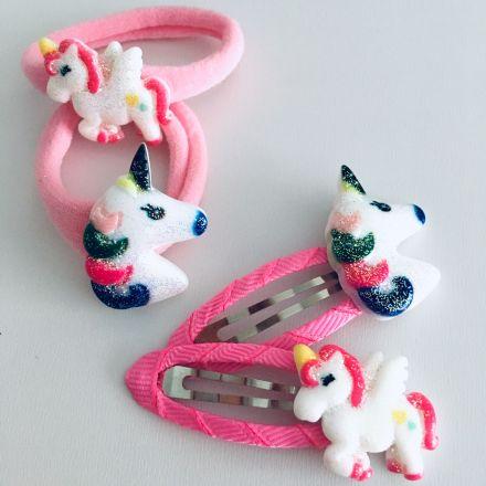 Unicorn sada gumiček a sponek 4