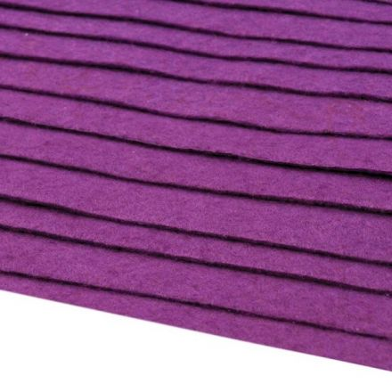 Galanterie: Filc 20x30cm - fialová