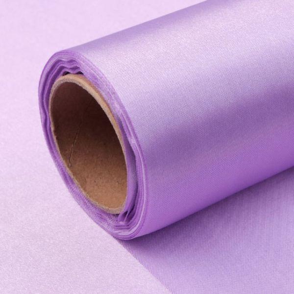 Satén jednostranný/stuha š.14cm - fialová lila