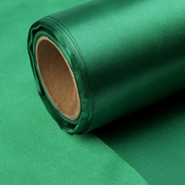 Satén jednostranný/stuha š.14cm - zelená