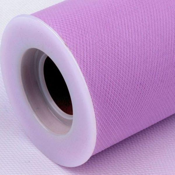 Tyl dekorační š.22,5cm - fialová lila