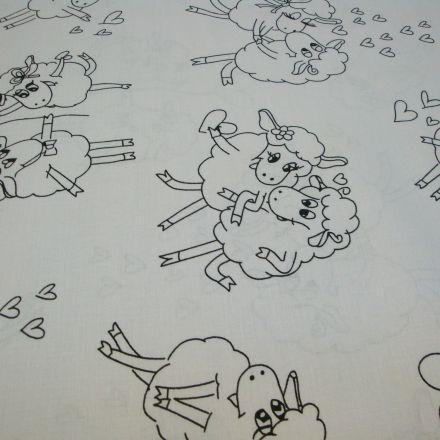 Metráž: Bavlna ovečka