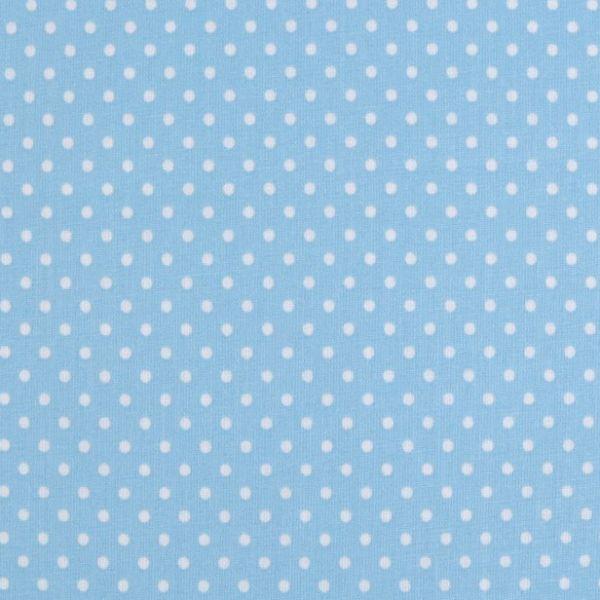 Bavlna puntík - pomněnková