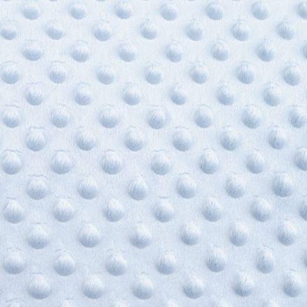 Metráž: Minky s 3D puntíky - sv.modrá