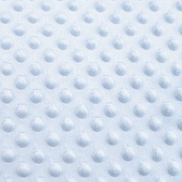 Minky s 3D puntíky - sv.modrá