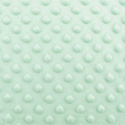 Metráž: Minky s 3D puntíky - mint