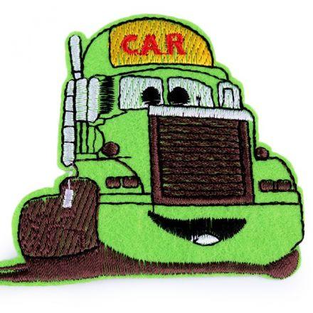Galanterie: Nažehlovačka nákladní auto - zelená