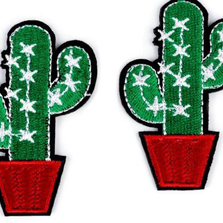 Galanterie: Nažehlovačka kaktus