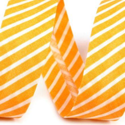 Galanterie: Šikmý proužek bavlněný 20 mm