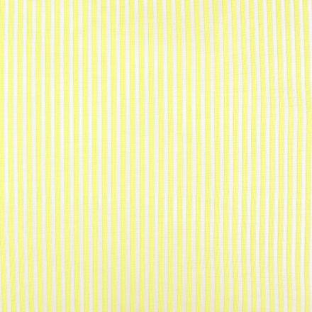 Metráž: Bavlna proužek - žlutá