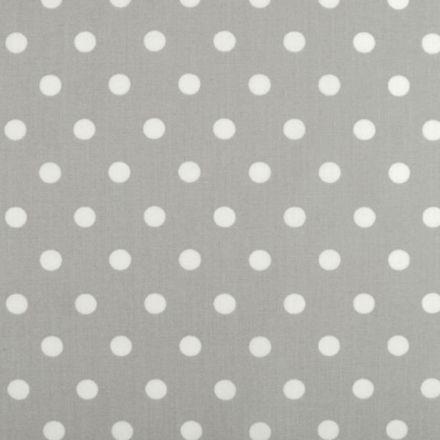 Metráž: Bavlna puntík - šedá