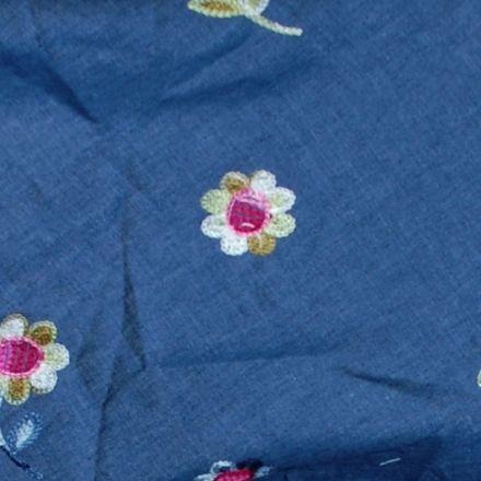 Metráž: Košilová džínovina