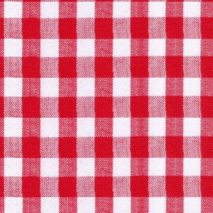 Metráž: Bavlna Kanafas - červená