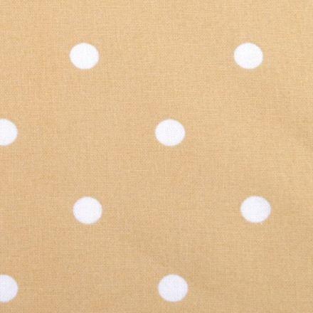Metráž: Bavlna puntík - béžová