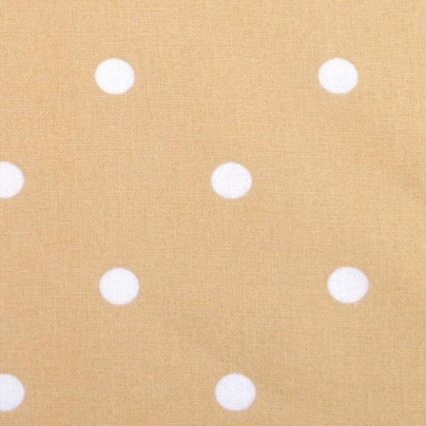 Bavlna puntík - béžová