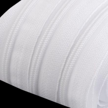 Galanterie: Zip spirálový šíře 3 mm - bílá