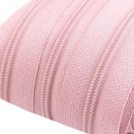 Galanterie: Zip spirálový šíře 3 mm - pudrová
