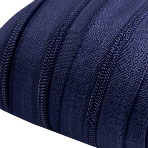 Zip spirálový šíře 3 mm - modrá