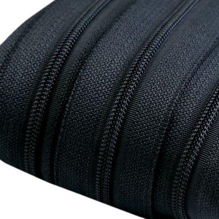 Galanterie: Zip spirálový šíře 3 mm - šedá