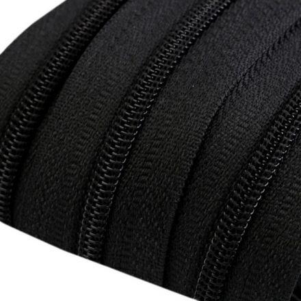 Galanterie: Zip spirálový šíře 3 mm - černá