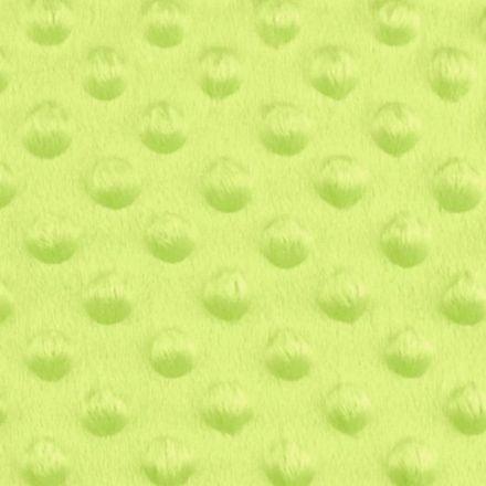 Metráž: Minky s 3D puntíky - sv.zelená