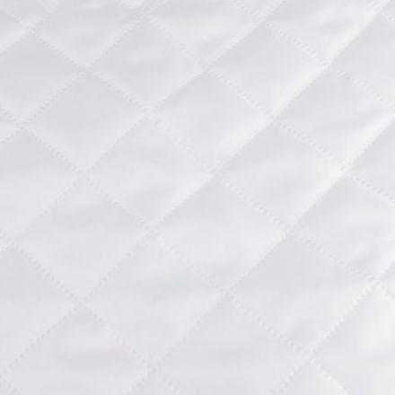 Metráž: Zateplená prošívaná podšívka - bílá