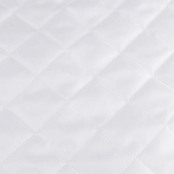 Zateplená prošívaná podšívka - bílá