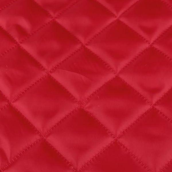 Zateplená prošívaná podšívka - červená