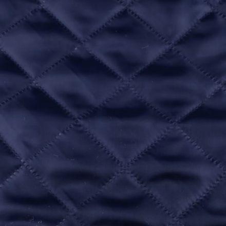 Metráž: Zateplená prošívaná podšívka - modrá tmavá