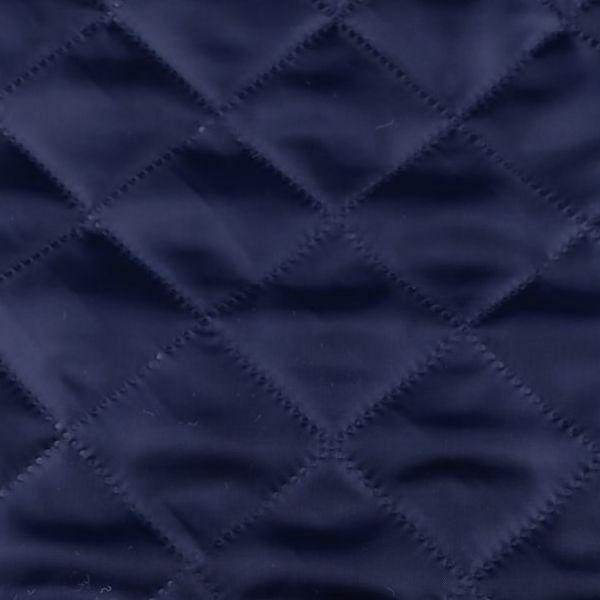 Zateplená prošívaná podšívka - modrá tmavá