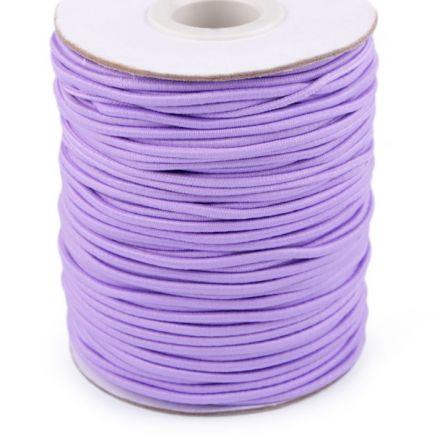 Galanterie: Kulatá pruženka 2 mm - fialková