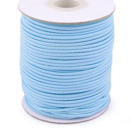 Galanterie: Kulatá pruženka 2 mm - sv. modrá