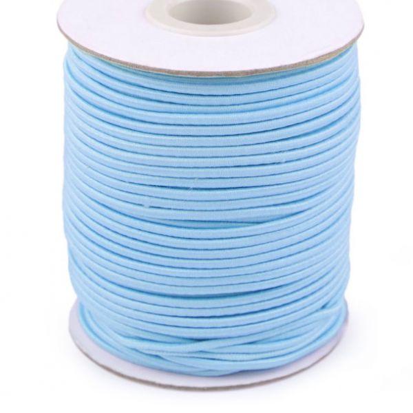 Kulatá pruženka 2 mm - sv. modrá