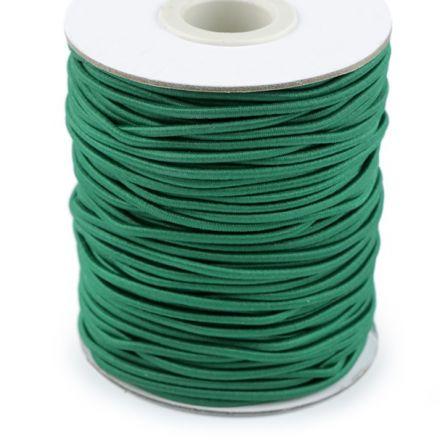 Galanterie: Kulatá pruženka 2 mm - zelená
