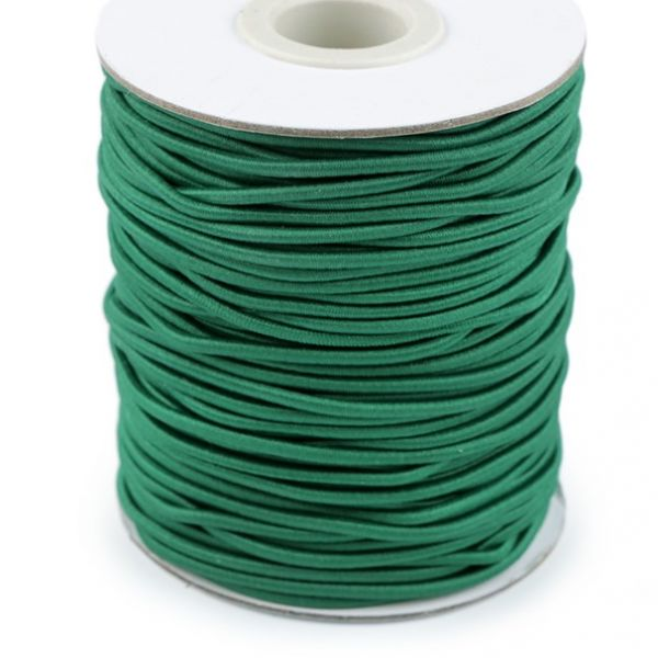 Kulatá pruženka 2 mm - zelená