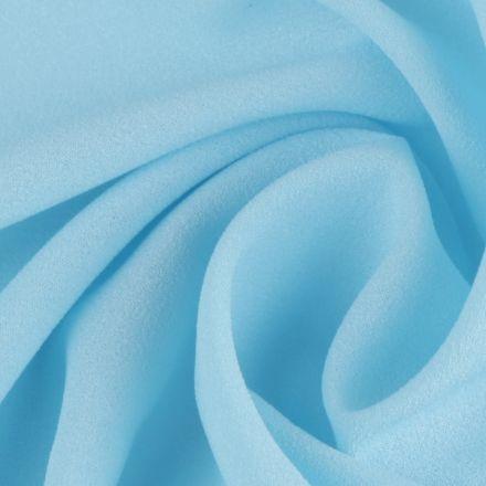 Metráž: Žoržet jednobarevný - modrá