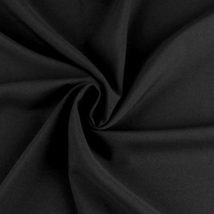 Metráž: Žoržet jednobarevný - černá