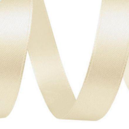 Galanterie: Atlasová stuha šíře 12 mmn - krémová